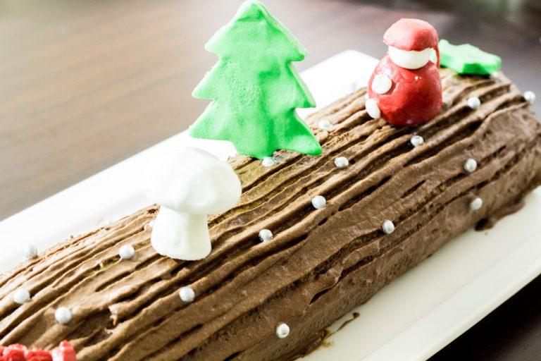 Christmas cake / Bûche de Noël