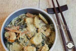 gambas-wakame-noddles-gregousfood2