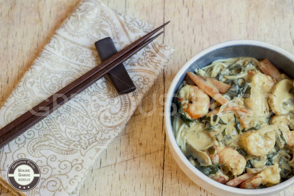 gambas-wakame-noddles-gregousfood4
