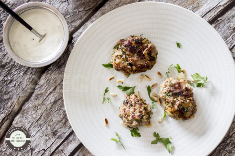 Koftas de cordero con salsa de yogur y menta – Reto Cooking The Chef