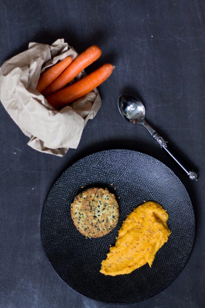 quinoa-burger-puree-carrots-gargonzola-gregousfood-1