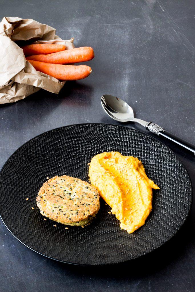 quinoa-burger-puree-carrots-gargonzola-gregousfood-5