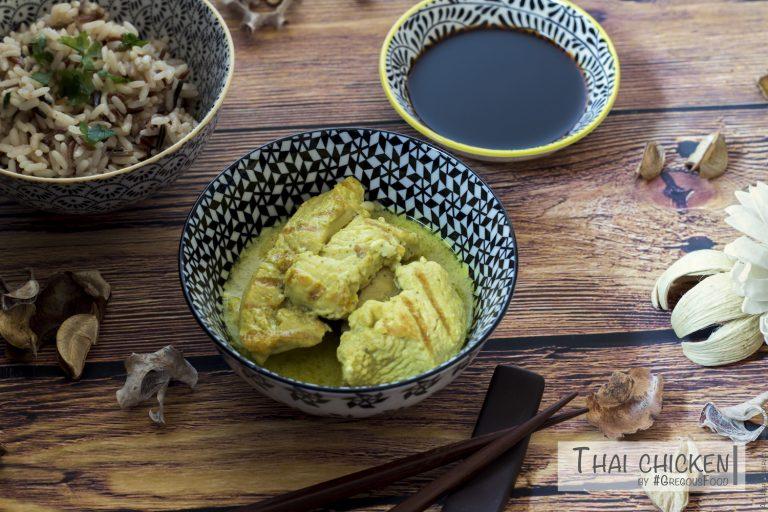 Thai chicken & wild rice