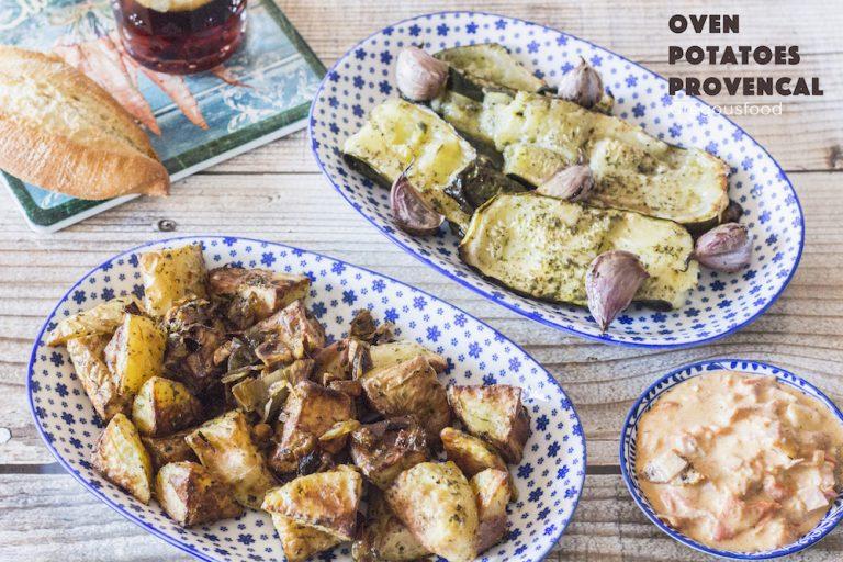 Oven vegetables provencal